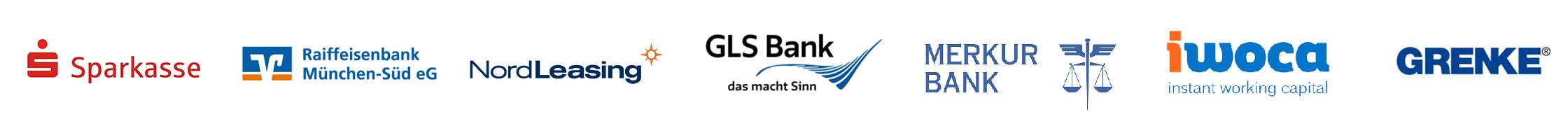 Logos der Finanzierungspartner der SimmCon GmbH