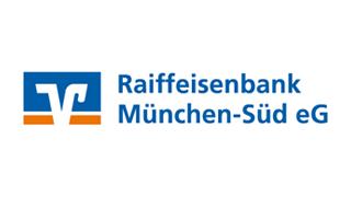 Logo Raiffeisenbank München-Süd e.G. - Finanzierungspartner der SimmCon GmbH