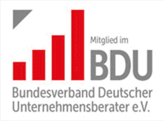 Mitglieds-Siegel BDU - Bundesverband deutscher Unternehmensberaterater