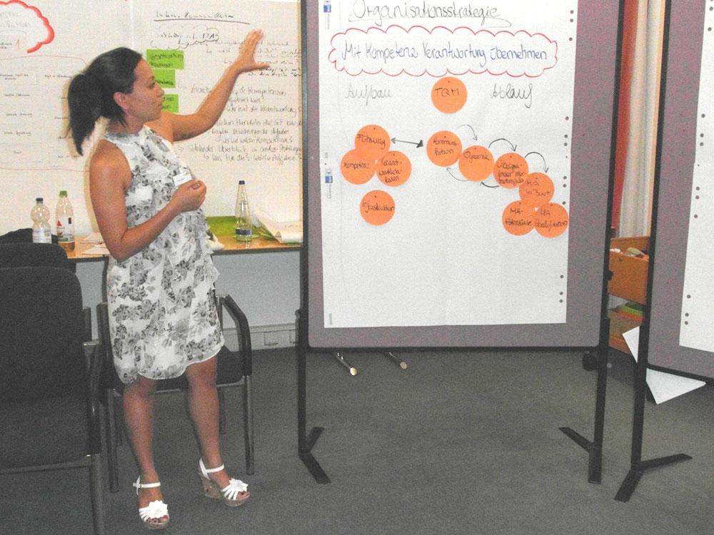 Workshop: Pinwand einer Teilbereichs-Strategie